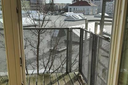 U6 Jägerstraße/Adalbert Stifter Straße 14-16-neu sanierte 1 Zimmerwohnung mit Balkon OHNE PROVISION und unbefristet ab sofort zu vermieten!