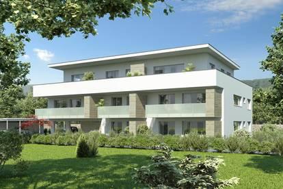 Familienwohnung mit 18m²-Südbalkon in kleinem ruhigen Bauprojekt
