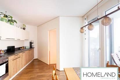 Exklusive Drei-Zimmer Wohnung mit voll ausgestatteter Küchenzeile