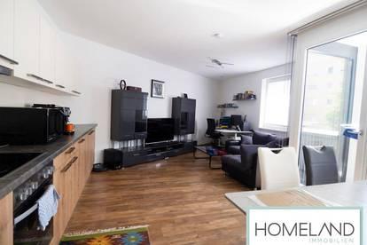 Exklusive Zwei-Zimmer Wohnung mit voll ausgestatteter Küchenzeile