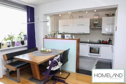 Moderne 4-Zimmerwohnung mit der Stadt zu Füßen
