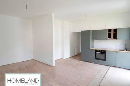 TOP Grundriss: Renovierte 2 Zimmer Wohnung mit Küche & Balkon