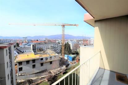 Geidorf: Sehr gut aufgeteilte 3 Zimmer-Küche Wohnung mit unverbaubarer Aussicht nach Westen!