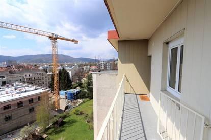 Geidorf: Wunderschöne 3 Zimmer-Küche Wohnung mit unverbaubarer Aussicht nach Westen!