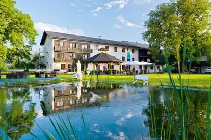 Hotel mit großer Liegenschaft in Kärnten - Idyllisch zwischen Faaker See und Wörthersee gelegen!