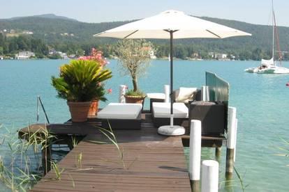 Herrschaftliche Gründerzeit-Villa am See mit imposantem Anwesen!