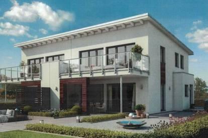 Moderne Doppelhäuser in Naarn