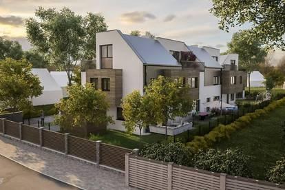 Residenz am Donaupark ! Vier Reihenhäuser und ein Doppelhaus am Bruckhaufen