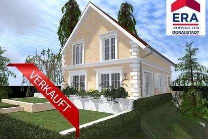 Eck-Grundstück mit Baubewilligung für EFH in Ruhelage - nur 10 Minuten von Wien