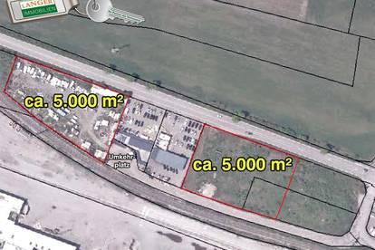 <b>2 Betriebsgrundstücke mit je ca. 5.000 m² Größe um € 115,-- pro m²!!!</b>