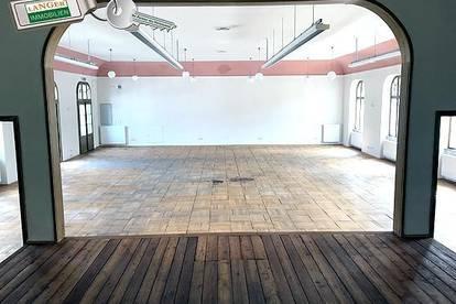 <b>Bei diesem großen Geschäftslokal steht ein historischer Saal, Büro, Teeküche bzw. Gemeinschaftsraum zur Verfügung!!!</b>