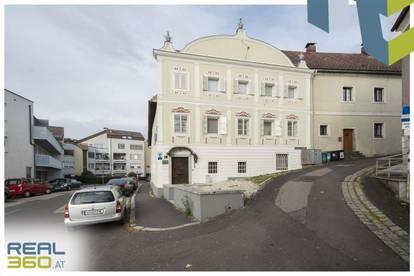 ERTRAGSOBJEKT in historischer Gebäudehülle am Fuße des Schlosses Ebelsberg!!!