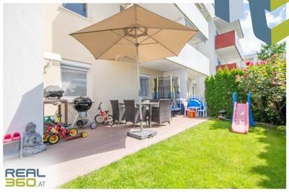 Gartenwohnung - perfekt für Familien oder Pärchen in netter Siedlung unweit von Linz!