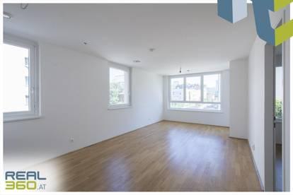 3-Zimmer-Wohnung mit hofseitiger Loggia ab sofort in Linz zu vermieten!