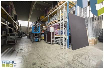 Tolle Lagerhalle mit Falttoren und Büro im Linzer Zentrum zu vermieten!