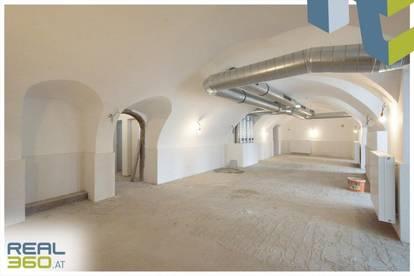 Tolle Geschäftsfläche mit idealer Aufteilung und tollen Details ab sofort in Linzer Altstadt zu vermieten!