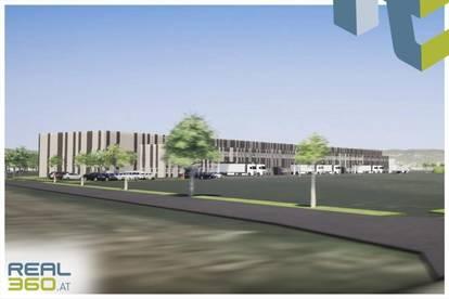 Logistikhalle/Gewerbeobjekt bestehend aus Halle und Büroflächen in Wels zu vermieten!