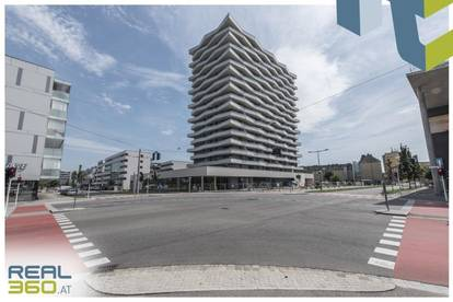 NEUBAU - LENAUTERRASSEN   Sonnige 3-Zimmer-Wohnung mit riesigem Balkon zu vermieten!! (GRATIS UMZUGSMONAT)