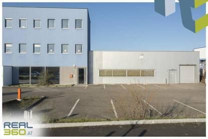 Gewerbeobjekt bestehend aus 2 Hallen und Büro in der Linzer Industriezeile zu vermieten!