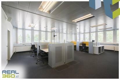3-geschoßige Bürofläche im Gewerbepark Franzosenhausweg Linz zu vermieten!