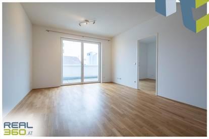 Tolle 2-Zimmer-Wohnung mit Loggia und möblierter Küche in Linz-Zentrum zu vermieten!