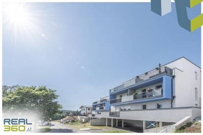 KIRCHSCHLAG - Vollmöblierte 4-Zimmer-Maisonette mit Balkon und Dachterrasse zu vermieten!