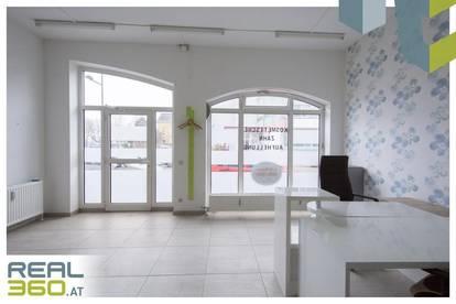 Provisionsfrei - Geschäftsfläche mit großzügiger Auslagefläche in Zentrumslage von Wels zu verkaufen!