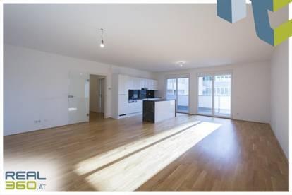 Hochwertige Ausstattung - Perfekter Grundriss - großer Balkon in den Innenhof!