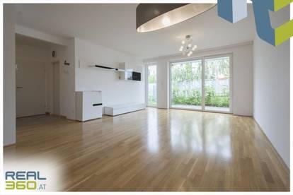 Helle 2-Zimmer-Gartenwohnung mit perfektem Grundriss zu in Wohnanlage zu vermieten!