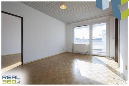 Sonnige 2-Zimmer-Wohnung mit Loggia in idealer Stadtlage von Linz zu vermieten!