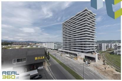 NEUBAU - LENAUTERRASSEN   2-Zimmer-Wohnung mit Balkon und Badewanne zu vermieten!! (GRATIS UMZUGSMONAT)