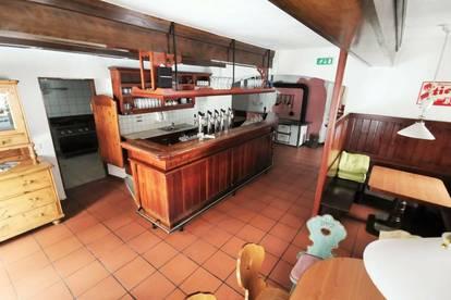 Restaurant mit Terrasse in Radenthein - Region Bad Kleinkirchheim. Wohnung möglich.