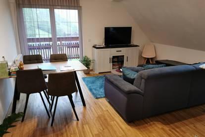 Neuwertige Wohnung in Sonnenlage Region Kleinkirchheim. 1 SZ. Derzeit vermietet.