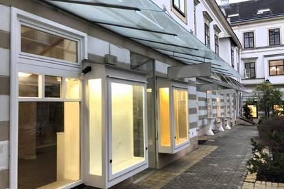 MANNLICHER | ZUR MIETE: Helles, repräsentatives Geschäftslokal im Zentrum von Mödling