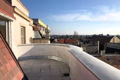 MANNLICHER | ZUR MIETE: Repräsentative DG-Wohnung mit Terrasse in Bestlage