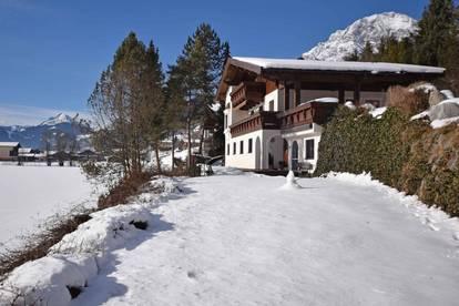 Traditionelles Landhaus mit touristischer Nutzung in Leogang