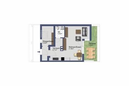 Dreizimmer Maisonette mit Balkon - provisionsfrei verfügbar ab November 2020 -Betriebs & Heizkosten inklusive