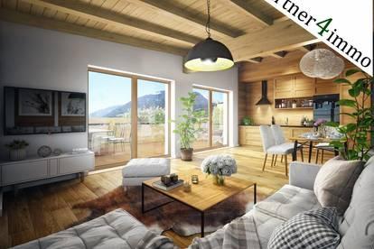 Exclusives Penthouse-Ferienappartement mit Bergblick in Top Lage in Fügen