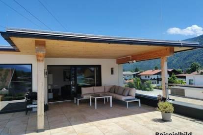 Exclusives Penthouse mit großer Dachterrasse im Grünen in Radfeld
