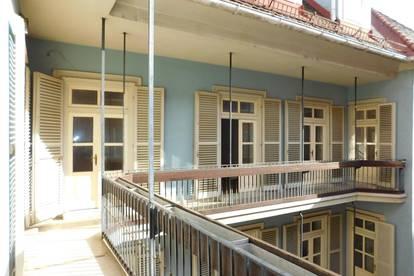 Innenstadt, Innenhof, coole Balkon-Wohnung