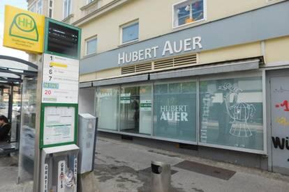 Toplage: Geschäft bei Kunsthaus