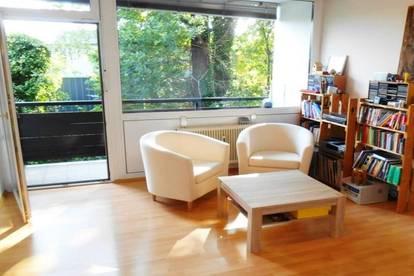 Helle, gemütliche Wohnung mit Balkon nähe Schillerplatz, Parkplatz