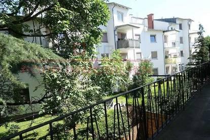 Hübsche, helle und gemütliche 3-Zimmerwohnung (alle extra begehbar) nahe Hauptplatz Andritz mit Balk