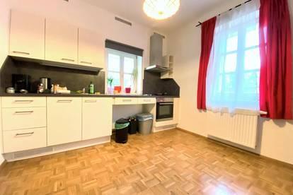 UNIVIERTEL - Beethovenstraße: sehr schöne 3 Zimmerwohnung, WG-tauglich, Gartenmitbenützung