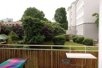 Beethovenstr.: Nähe Musik- und Karl Franzens Universität: Altbau, 3er-WG, Balkon, Gartenmitbenützung