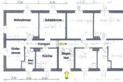 MIETWOHNUNG 75m² 3 Zimmer Judenburg Bestlage