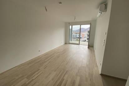 PROVISIONSFREIE Erstbezug 3 Zimmerwohnung mit Riesenbalkon und Klimaanlage in der Smartcity!!