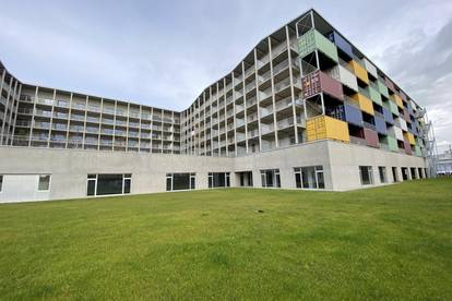 tolle Gelegenheit - gut durchdachte provisionsfrei 2 Zimmerwohnung mit riesigem Balkon im 4 OG in der SmartCity