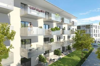 Hochwertige Single Wohnung mit Süd/Ost Balkon - Erstbezug - provisionsfrei