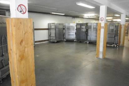 Kurzzeit Kleinlagerflächen ( 21-24 m²) in verschließbaren Metallkojen, trocken und beheizt